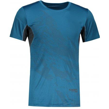 Pánské tričko s krátkým rukávem ALPINE PRO HETT 2 MTSL266 TMAVĚ MODRÁ