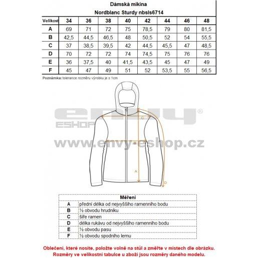 Dámská mikina NORDBLANC STURDY NBSLS6714 GRAFITOVÝ MELÍR