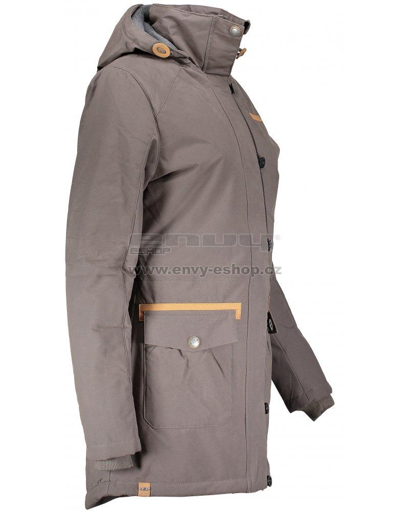 Dámský kabát ALPINE PRO EDITE 4 LCTM066 BÉŽOVÁ velikost  L   ENVY ... 18eac07d9b7
