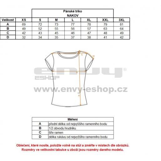 Pánské triko ALPINE PRO NAKOV MTSM381 BÍLÁ