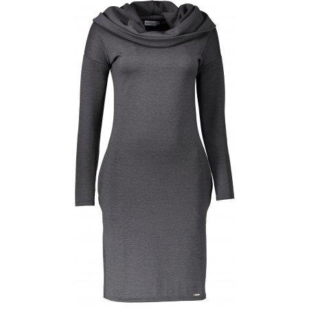 Dámské šaty NUMOCO 131-3 ŠEDÁ