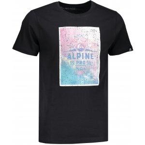 Pánské triko ALPINE PRO AMIT 4 MTSM309 ČERNÁ