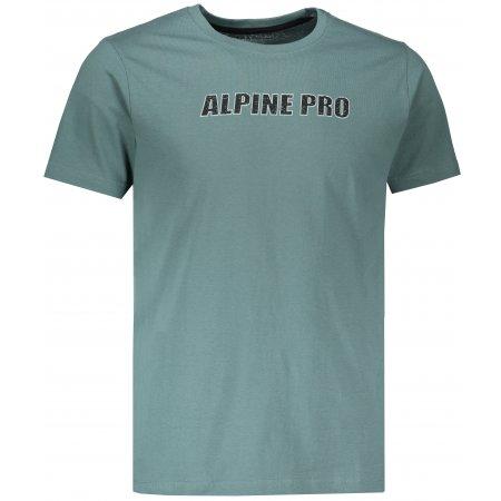 Pánské triko ALPINE PRO LEMON MTSM380 ZELENÁ