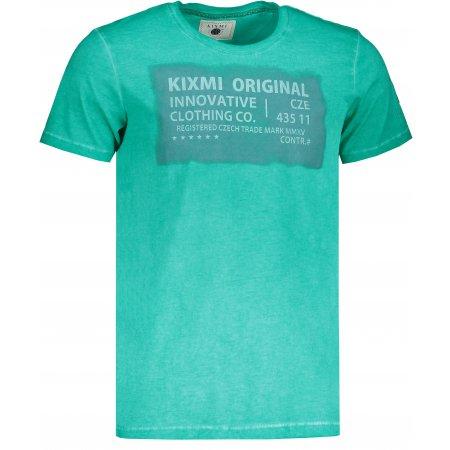 Pánské triko KIXMI GEORGE ZELENÁ