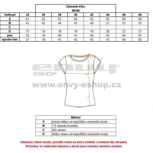 Dámské triko s krátkým rukávem ALTISPORT MOBI ALLS18037 FIALOVÁ