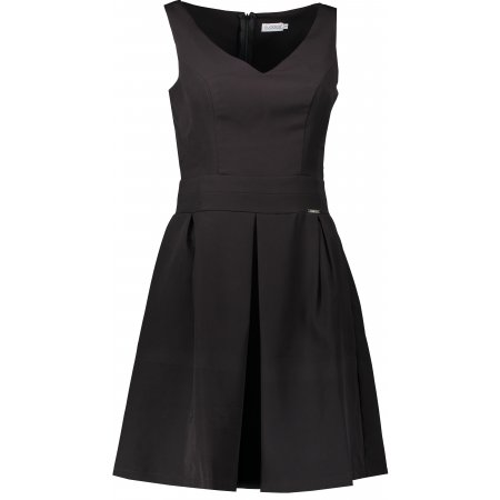 Dámské šaty NUMOCO 160-1 ČERNÁ