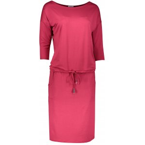Dámské šaty NUMOCO A13-66 TMAVĚ ČERVENÁ
