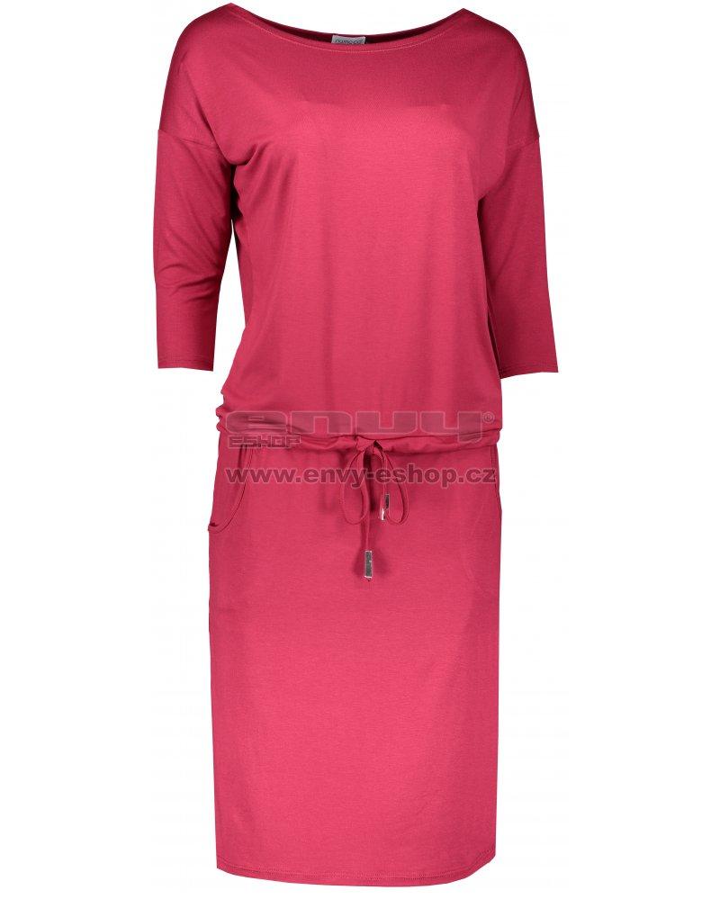 Dámské sportovní šaty NUMOCO A13-66 TMAVĚ ČERVENÁ velikost  S   ENVY ... bdbd8fd219
