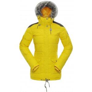 Dámská zimní bunda ALPINE PRO ICYBA 4 LJCM259 ŽLUTÁ