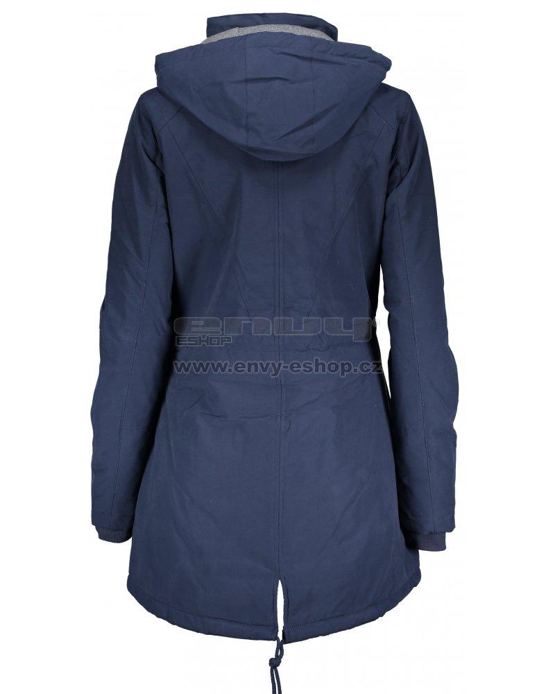 Dámský kabát ALPINE PRO EDITE 4 LCTM066 TMAVĚ MODRÁ velikost  L ... e213a404301