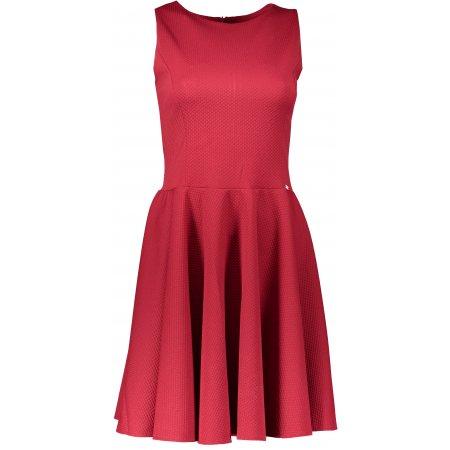 Dámské šaty NUMOCO 125-1 BORDÓ