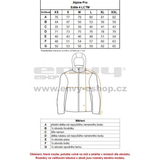 Dámský kabát ALPINE PRO EDITE 4 LCTM066 TMAVĚ MODRÁ