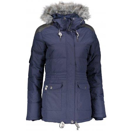 Dámská zimní bunda ALPINE PRO ICYBA 4 LJCM259 TMAVĚ MODRÁ