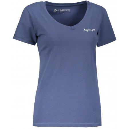 Dámské triko ALPINE PRO LUKA 2 LTSM344 MODRÁ