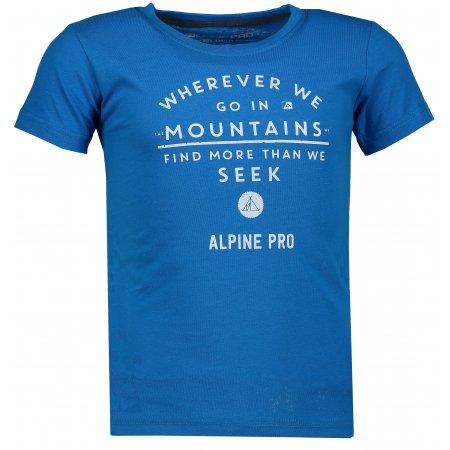 Dětské triko ALPINE PRO IVARO KTSM124 MODRÁ