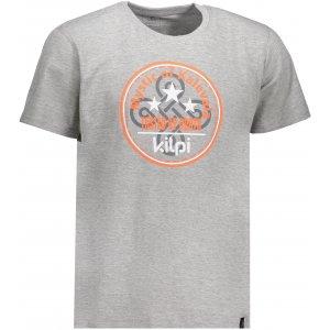 Pánské triko s krátkým rukávem KILPI MYSTIC-M IM0125KI TMAVĚ ŠEDÁ
