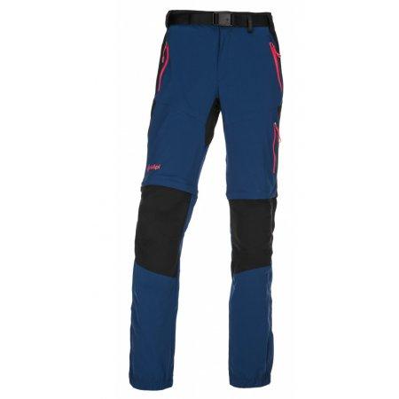 Dámské outdorové kalhoty KILPI HOSIO-W IL0071KI TMAVĚ MODRÁ