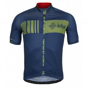 Pánský cyklistický dres KILPI CHASER-M IM0021KI TMAVĚ MODRÁ