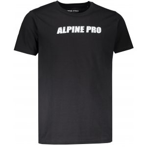 Pánské triko ALPINE PRO LEMON MTSM380 ČERNÁ