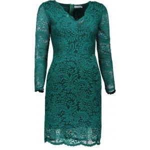 Dámské krajkové šaty NUMOCO A170-3 ZELENÁ