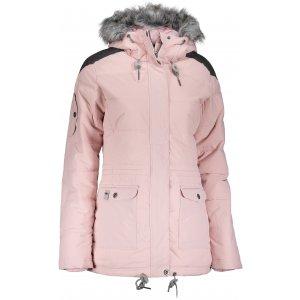Dámská zimní bunda ALPINE PRO ICYBA 4 LJCM259 SVĚTLE RŮŽOVÁ