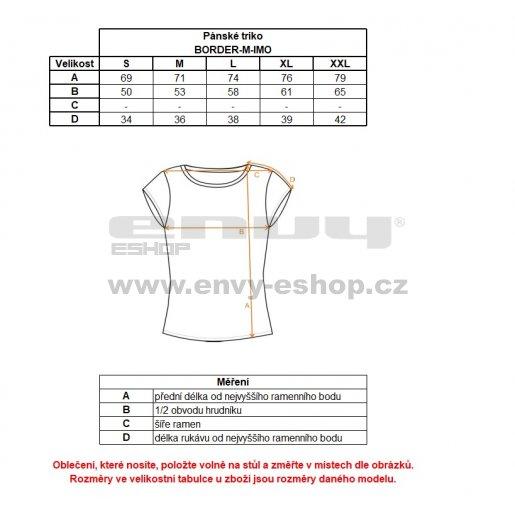 Pánské funkční triko s krátkým rukávem KILPI BORDER-M IM0055KI TMAVĚ ŠEDÁ