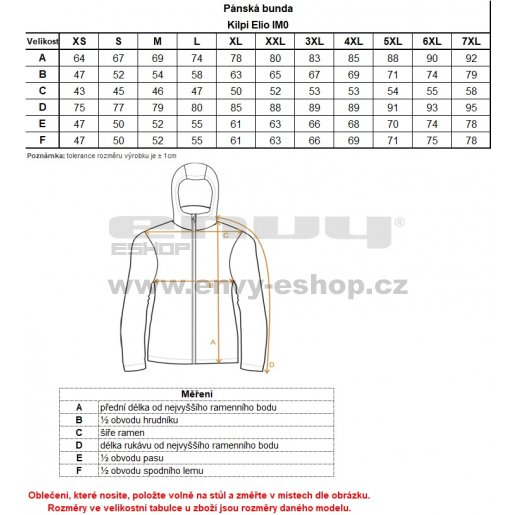 Pánská softshellová bunda KILPI ELIO IM0995KI TMAVĚ MODRÁ