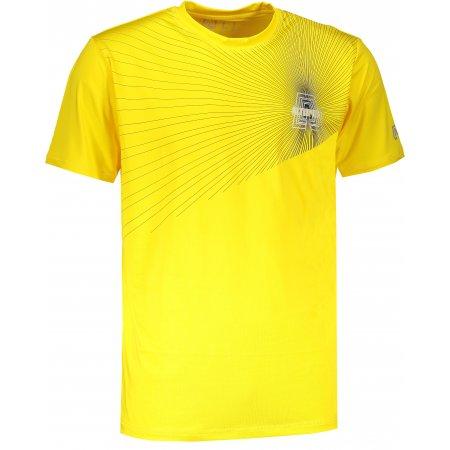 Pánské funkční triko ALTISPORT KOLLET ALMS18077 ŽLUTÁ