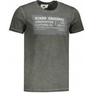 Pánské triko KIXMI GEORGE KHAKI