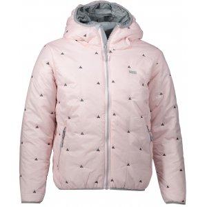 Dívčí zimní bunda ALPINE PRO SOPHIO 3 KJCM111 SVĚTLE RŮŽOVÁ