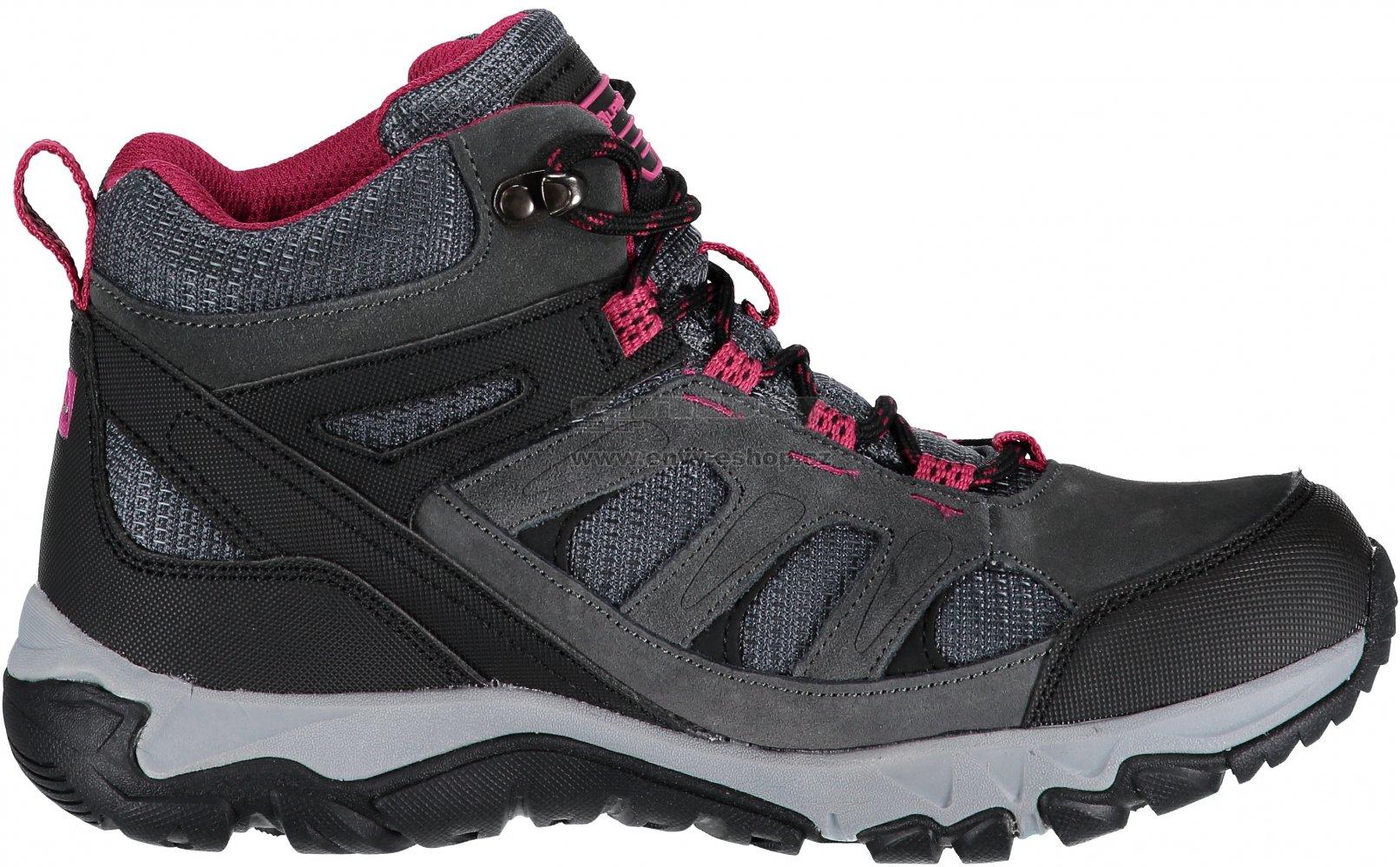 Dámská turistická obuv ALPINE PRO ARNETTA LBTM176 TMAVĚ ŠEDÁ ... 915d343840