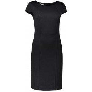 Dámské elegantní šaty NUMOCO 37-3 ČERNÁ