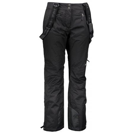 Dámské lyžařské kalhoty ALPINE PRO MINNIE 4 LPAM280 ČERNÁ