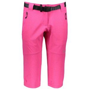 Dámské 3/4 kalhoty KILPI DALARNA-W IL0038KI RŮŽOVÁ