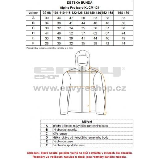 Dětská oboustranná bunda ALPINE PRO ICERO KJCM131 ZELENÁ