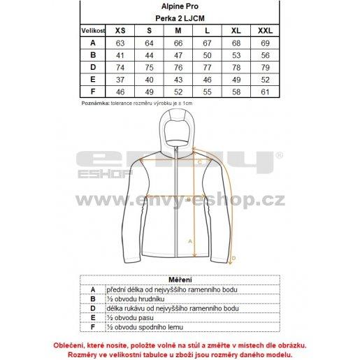 Dámská softshellová bunda ALPINE PRO PERKA 2 LJCM257 ČERNÁ