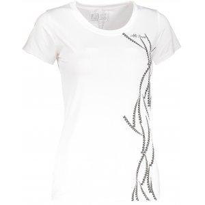 Dívčí funkční triko ALTISPORT KOUFA-J ALJS18068 BÍLÁ