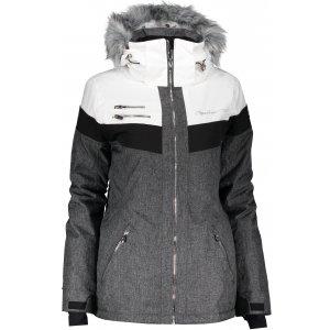 Dámská lyžařská bunda ALPINE PRO DORA 5 LJCM286 BÍLÁ