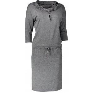 Dámské šaty NUMOCO A44-1 ŠEDÁ