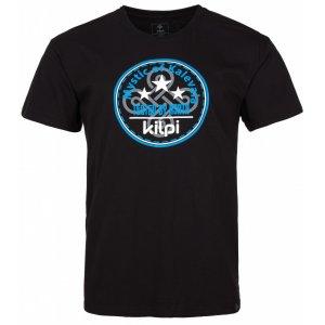 Pánské triko s krátkým rukávem KILPI MYSTIC-M IM0125KI ČERNÁ