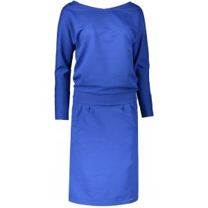 Dámské šaty NUMOCO A189-2 MODRÁ