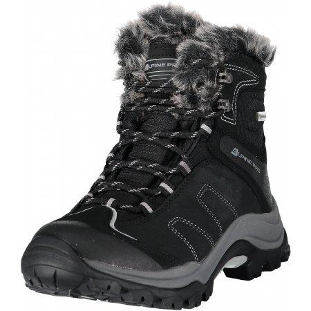 Dámské zimní boty ALPINE PRO BORKA LBTM175 ČERNÁ