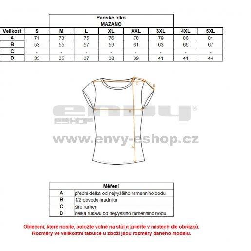 Pánské funkční triko ALTISPORT MAZANO ALMS18076 MODRÁ