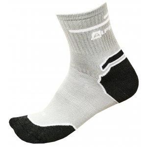 Ponožky ALPINE PRO GLYNIS 2 USCM045 SVĚTLE ŠEDÁ