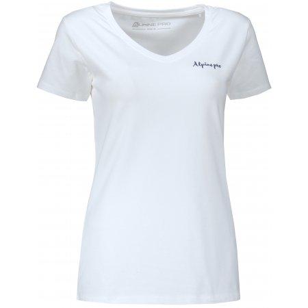 Dámské triko ALPINE PRO LUKA 2 LTSM344 BÍLÁ