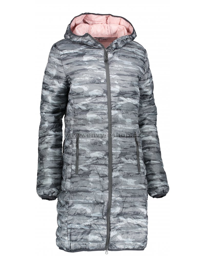 Dámský kabát ALPINE PRO ARICA LCTM085 TMAVĚ ŠEDÁ velikost  XS   ENVY ... 32d356836e6