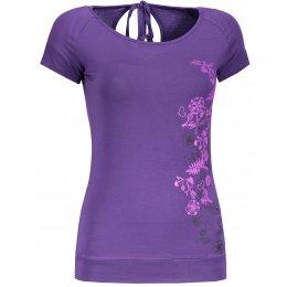 Dámské triko s krátkým rukávem ALTISPORT TONGUA ALLS18042 FIALOVÁ