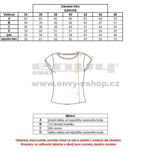 Dámské funkční triko s krátkým rukávem KILPI GAROVE-W IL0020KI MODRÁ