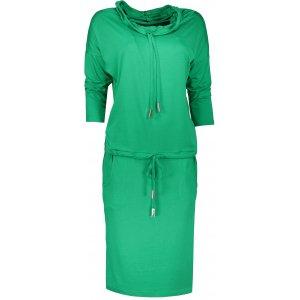 Dámské šaty NUMOCO A44-5 ZELENÁ
