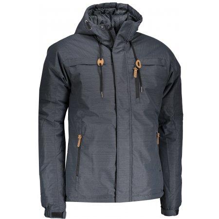 Pánská zimní bunda ALPINE PRO STOREM 2 MJCM303 ČERNÁ